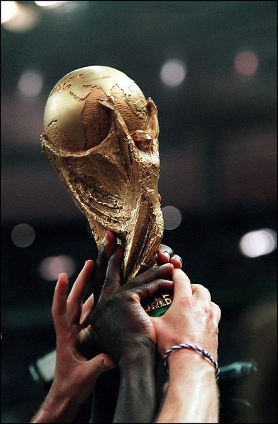 1998. Finale de la coupe du monde de football. France-Bresil: 3-0