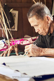 wau kite maker, traditional professions