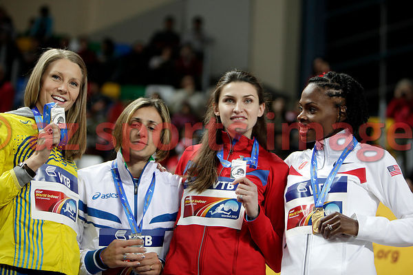 High Jump Medal Ceremony