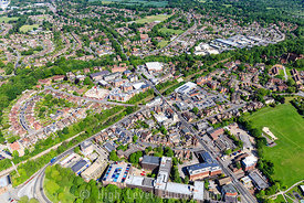 Aerial Photography taken in and around East Grinstead, UK.
