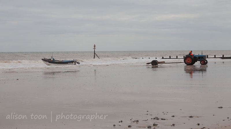 Fisherman, Cromer beach