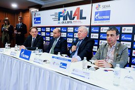 SEHA Final Four -  SEHA Executive committee press conference