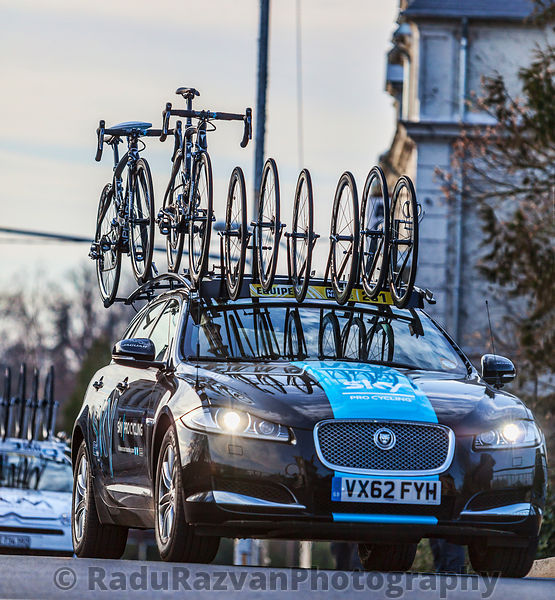 Technical Car of Sky Procycling Team