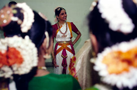 India - Chennai - Indian Classical dancer