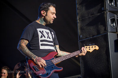 Joe Principe of Rise Against, Aftershock 2014
