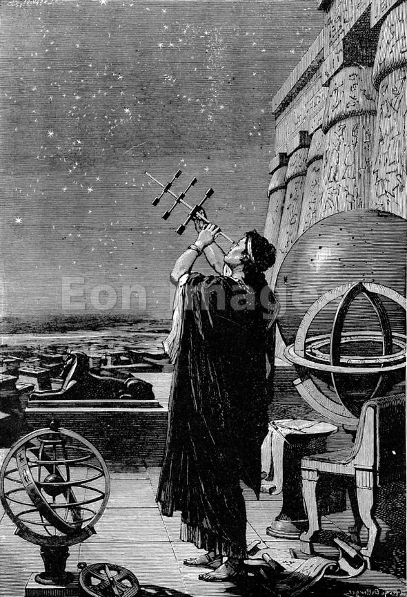 Hipparchus in Observatory of Alexandria
