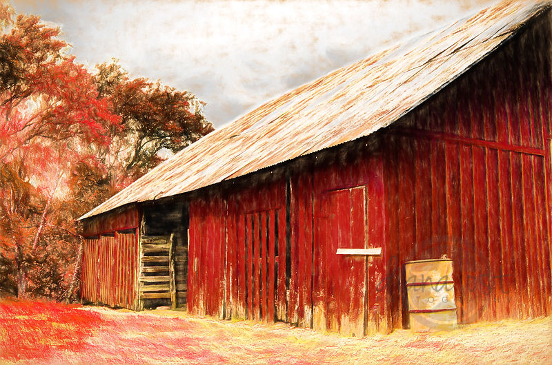 Red-Barn-Fall