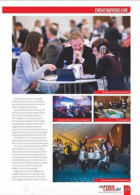 Stand Out magazine - Event Buyers Live 2017 - page 21 - March 2017
