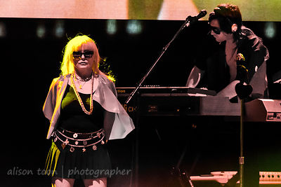 Debbie Harry and Matt Katz-Bohen, Blondie, TBD Fest, Sacramento 2014