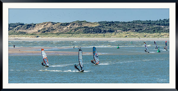 Windsurf en Baie de Canche © 2016 Olivier Caenen, tous droits reserves