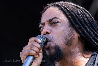 Lajon Witherspoon, vocals, Sevendust