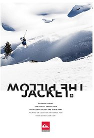 Quiksilver adverts - Candide Thovex