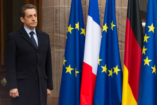 Strasbourg: Trilateral meeting on eurozone crisis