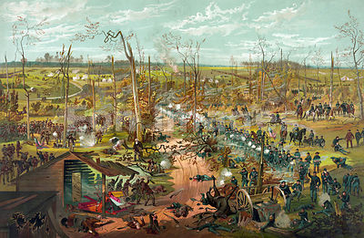 Battle of Shiloh, April 6, 1862