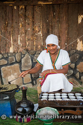 Coffee ceremony, Ethiopia