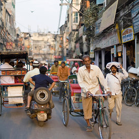 Chawri Bazaar, Old Delhi, India