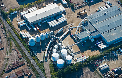 Rail Transfer Facility, Aerial Photo