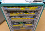 Anaesthetic Room supplies trolley