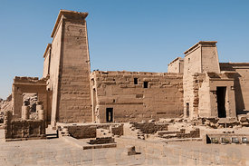Temple at Philae.