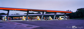 Shell fuel station at E40 highway