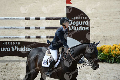 Jonna EKBEG, (SWE), AIR PIA VZ during Negrita Trofey competition at CSIO5* Barcelona at Real Club de Polo, Barcelona - Spain