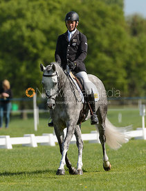 Andrew Nicholson and ANDREA BT 4 - Rockingham International Horse Trials 2017