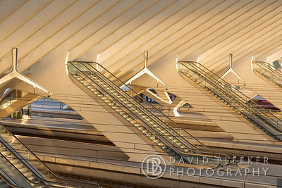 Liège Guillemins - Escalators