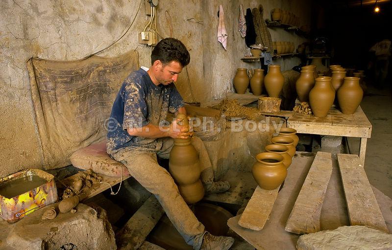 philippe body photographies artisanat potier avanos