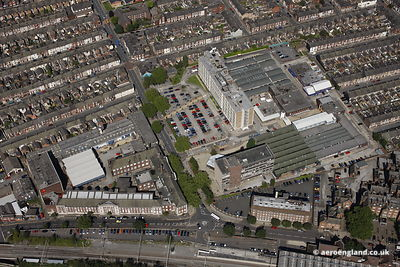 aerial photograph of Staffordshire University   Stoke-on-Trent, Staffordshire UK