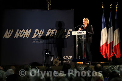 Meeting Marine Le Pen