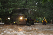 Colorado National Guard evacuate Boulder County residents from flooded areas