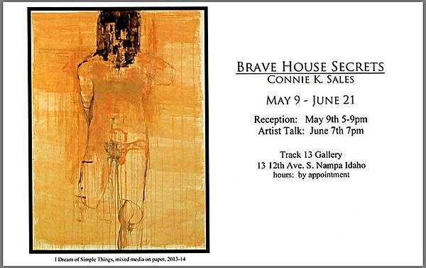 Connie K Sales | Brave House Rules, TRACK 13's Opening Exhibition photos