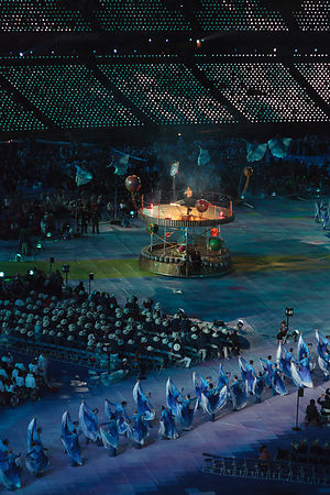 Paralympic Opening Ceremony - Books and knowledge