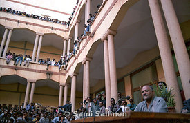 Haile Woldetensae at Asmara University