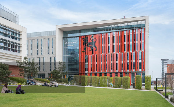 The Curzon Building, the Eastside Campus for Birmingham City University.