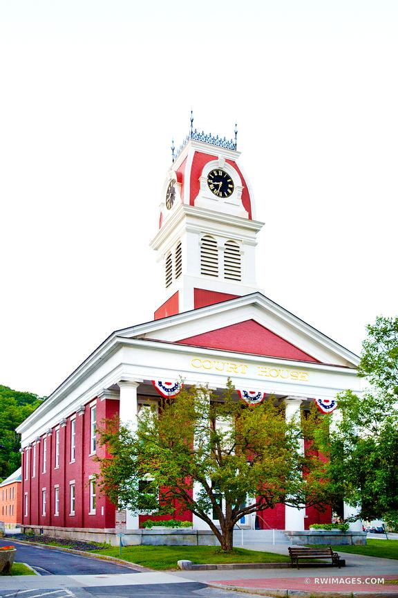 COURT HOUSE BUILDING MONTPELIER VERMONT COLOR