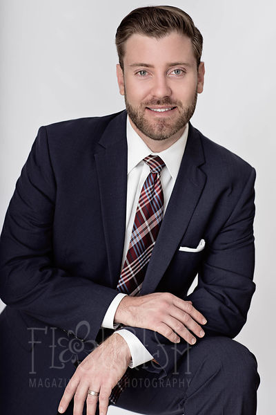 Portraits - Business Head Shot | Zachary Bayne | Allen Dell | St. Pete Photographer picture