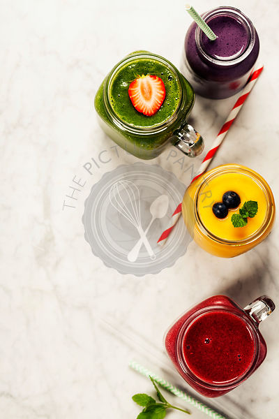 Fresh smoothies