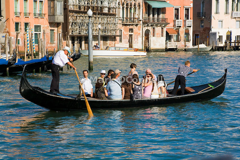 Gondolas on the Grand canal m8
