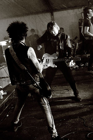 Earl Slick and Simon Finch