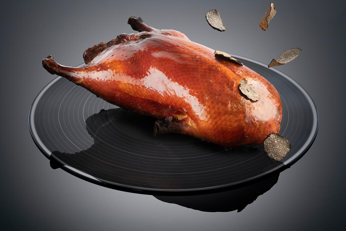 Ling Ling food shoot, Hakkasan Hanway Place. Peking Duck