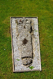 Grave Stone, St Teilos Church, Merthyr Mawr, Bridgend, South Wales.