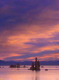 Sunrise on Mono Lake #3