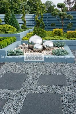 La phototh que les plus beaux jardins jardin de for Massif jardin contemporain