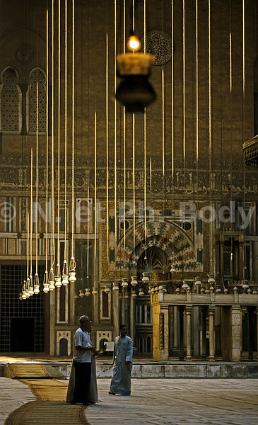 MOSQUEE EL HASSAN, LE CAIRE, EGYPTE//CAIRO, EGYPT