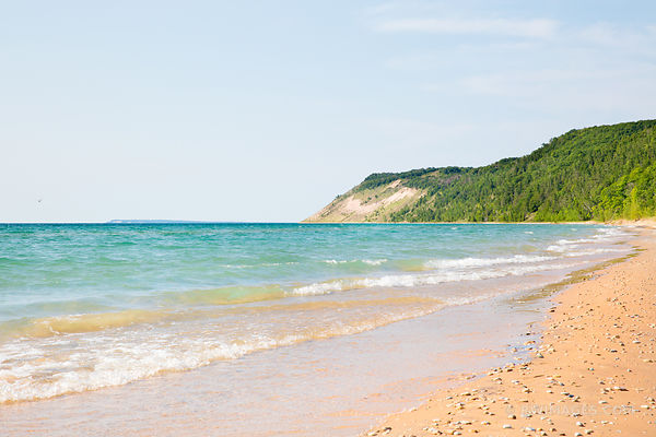 ESCH BEACH SLEEPING BEAR DUNES MICHIGAN COLOR