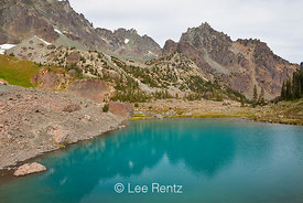 Imperial Tarn in Royal Basin of Olympic National Park