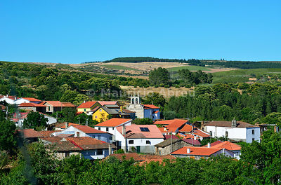 The traditional tiny village of Montouto in Trás-os-Montes. Montesinho Nature Park, Portugal