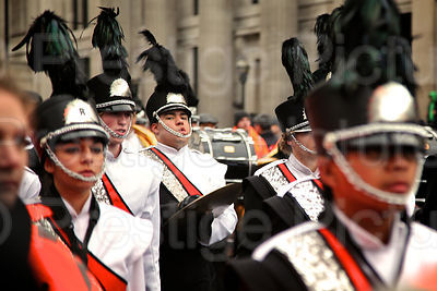 London New Year Parade-Riverside City College Marching Tigers