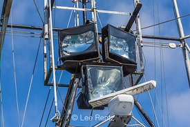 Fishing Vessel Lights in Port of Newport Marina